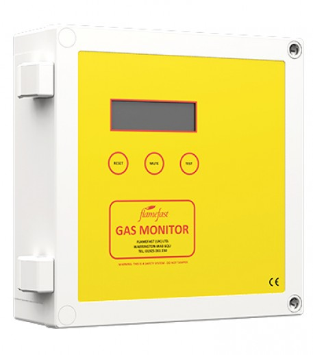 GasMonitor - 16 Channel Gas Detection System